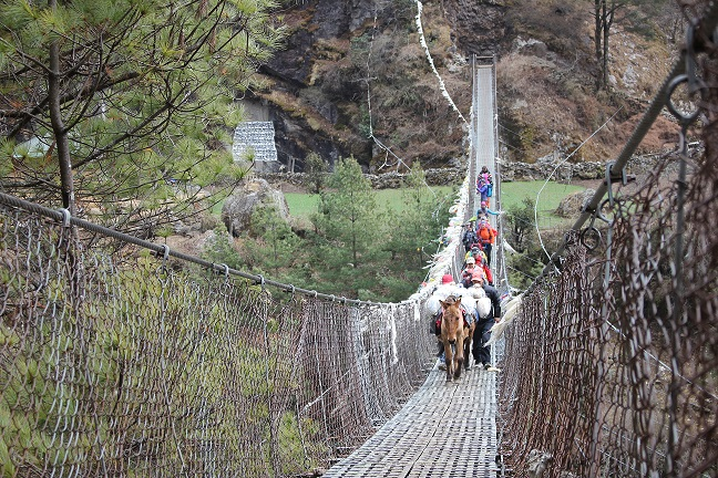 Everest Suspension Bridge