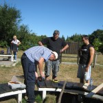 Ремонт на пейка на Игликина поляна