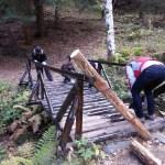 Лакиране на близкия мост