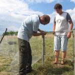 Монтиране на оградата