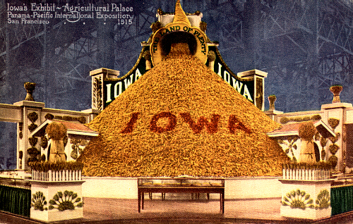 Iowa Exhibit, Agricultural Palace, Panama-Pacific International Exposition, San Francisco, 1915
