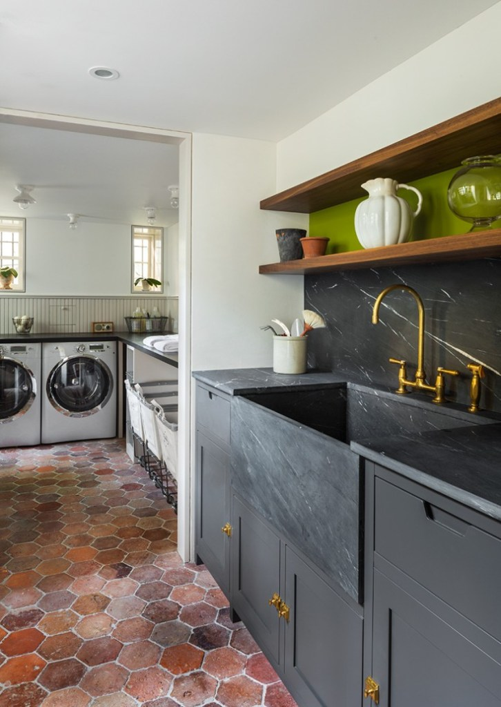 kendall charcoal laundry room