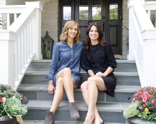 Christina Samatas and Renee DiSanto