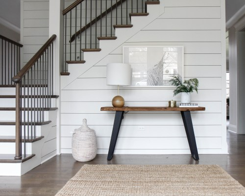 Park and Oak Design console table roundup