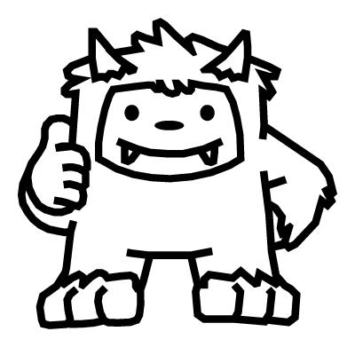 PARK Cycles Yeti Mascot