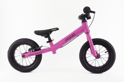 "PARK Cycles - 12"" Balance Bike - Intense Pink"