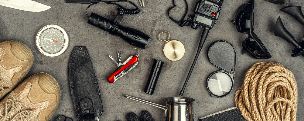 Survival Gears and accessories