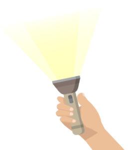 10Flash light