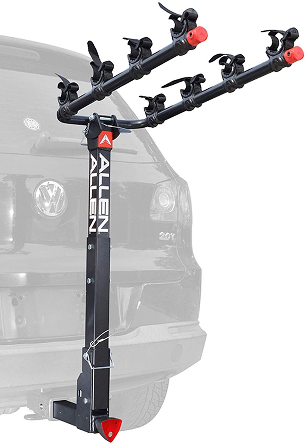 4 bike hitch carrier for motorhomes and 5th wheels
