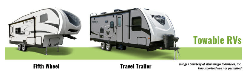 pros and cons of a 5th wheel camper vs a travel trailer