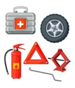 8Roadside emergency kit