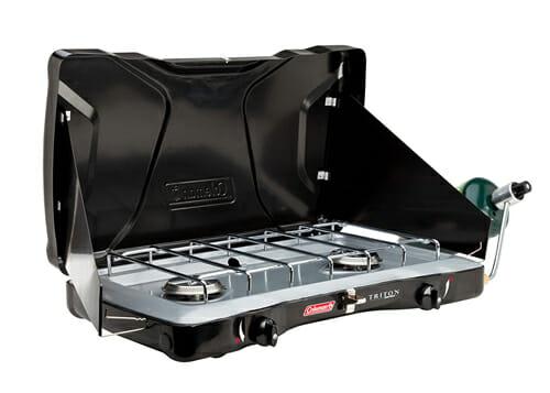 Coleman triton propane camping stove