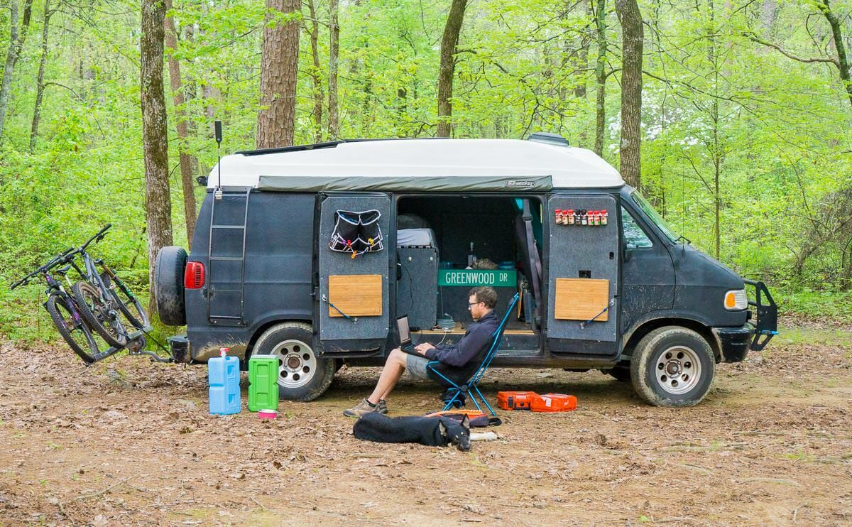 Cost Of Living In A DIY Campervan Conversion