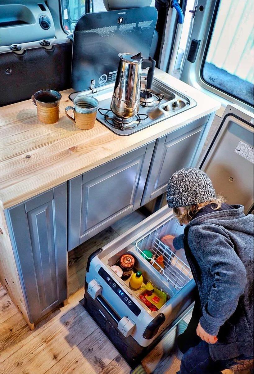 Conversion Van Refrigerator