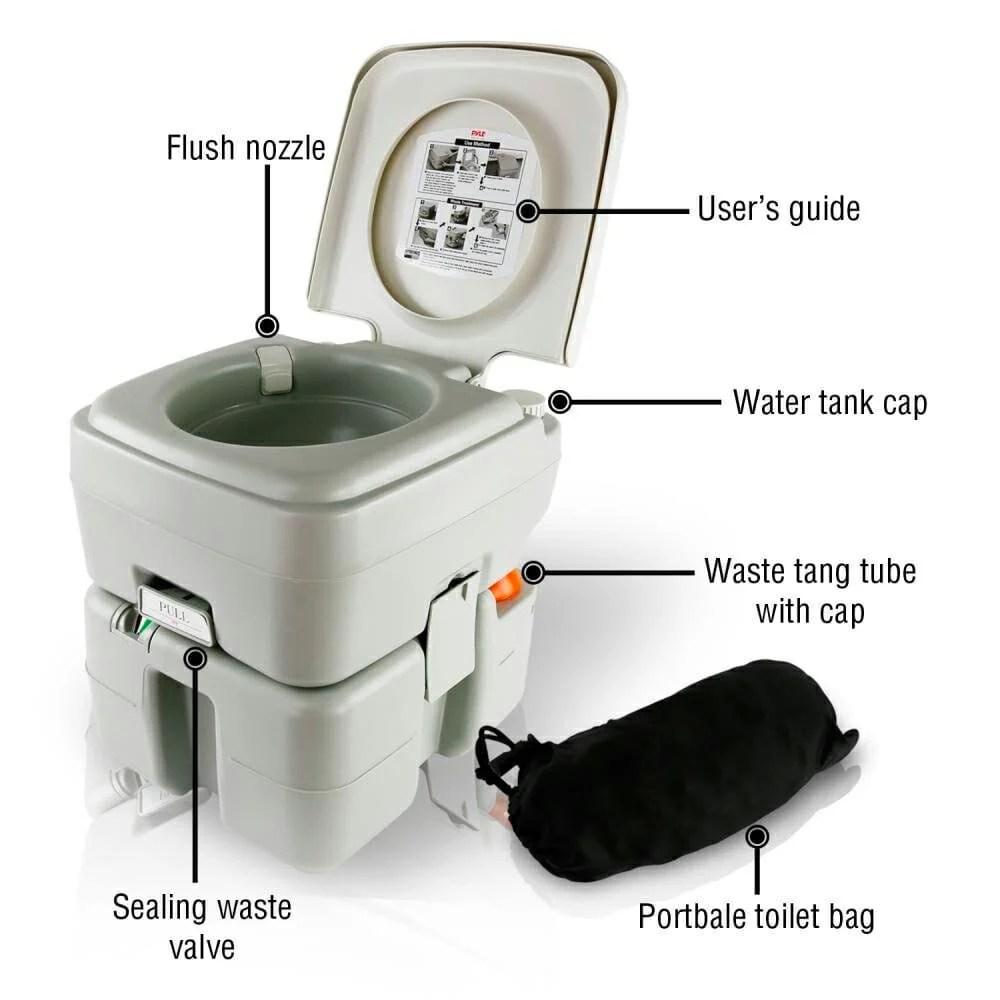 SereneLife Toilet Parts