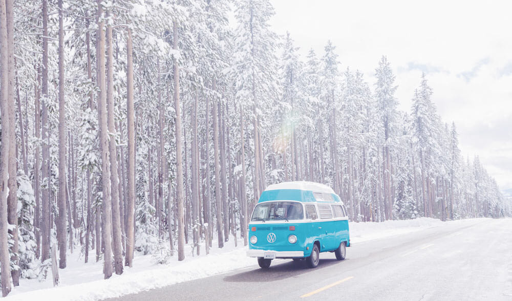 VanLife in the snow