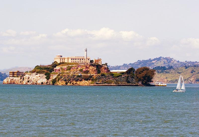 alcatraz island national park in california
