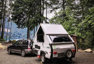 small a frame camper trailer