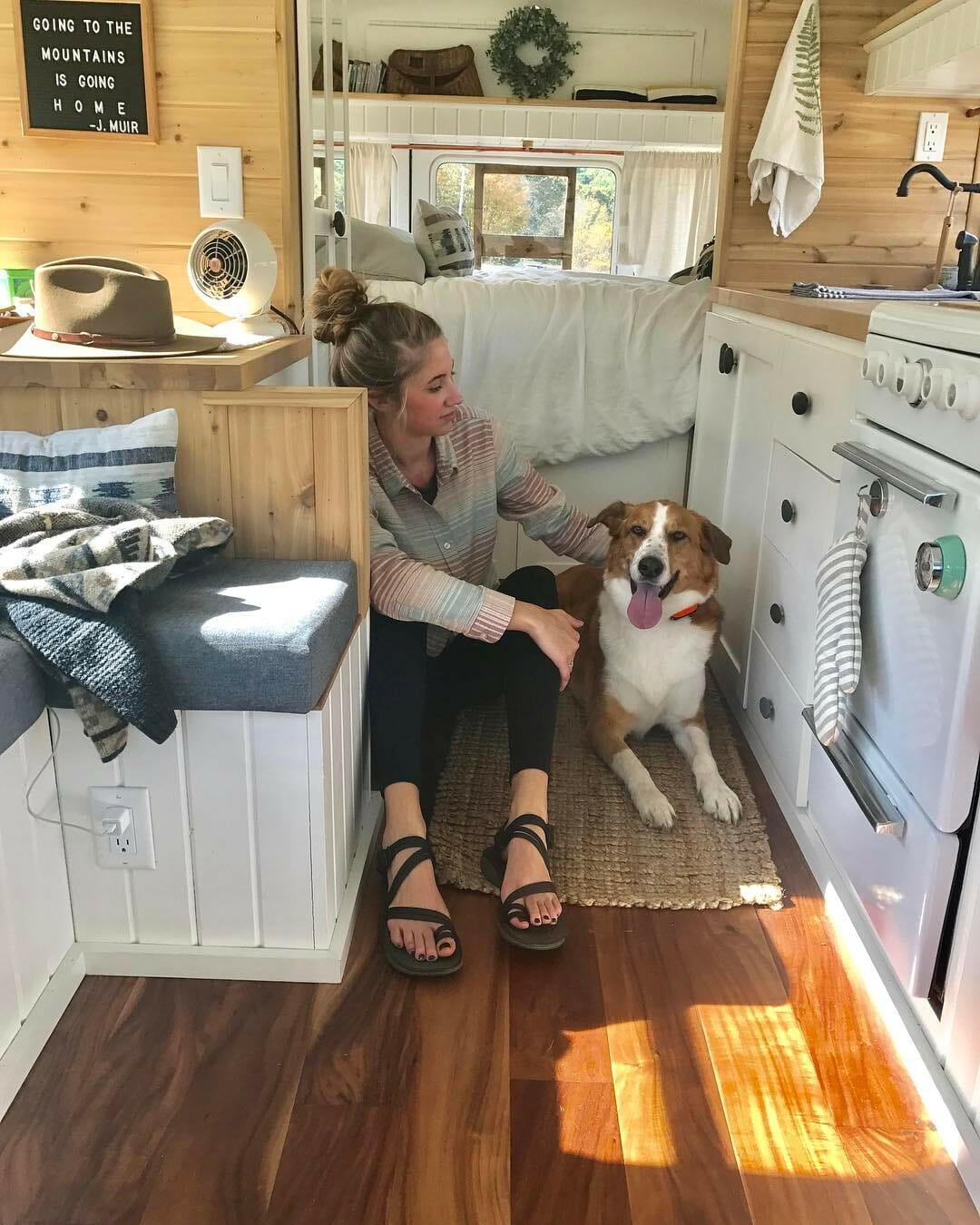 living in a tiny home, bus or RV