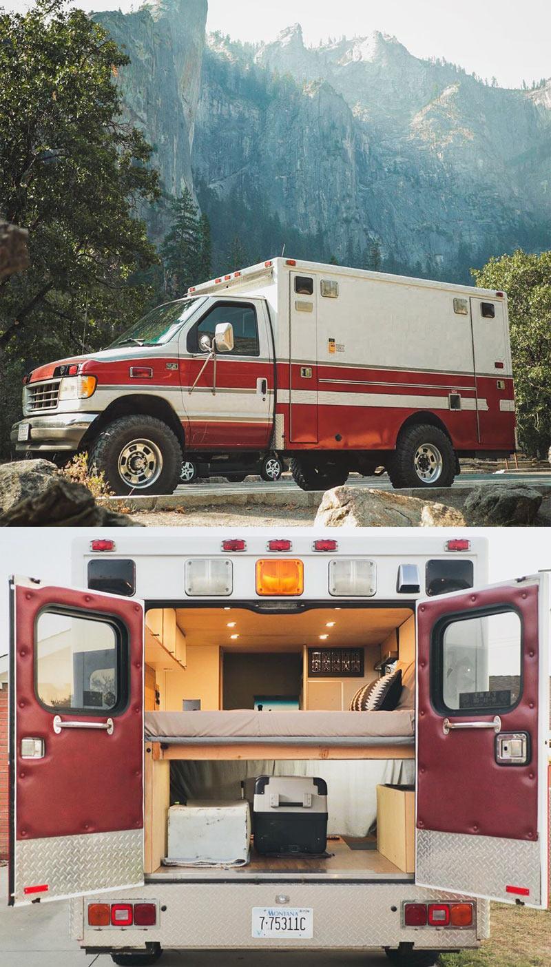 design a diy ambulance camper van conversion