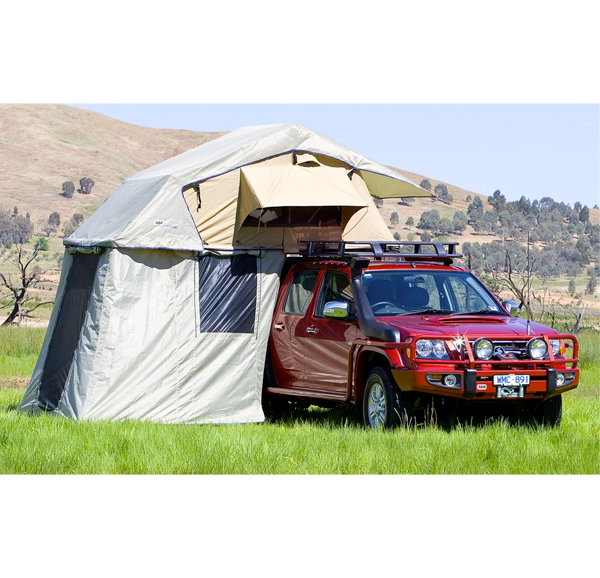 ARB simpson roof top camping tent for jeeps and overlanding off grid