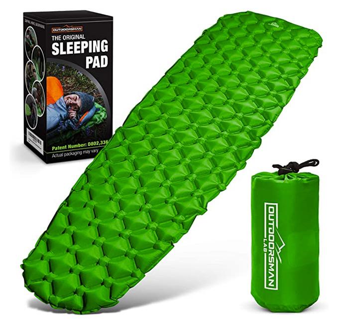 backpacking hammock sleeping pad