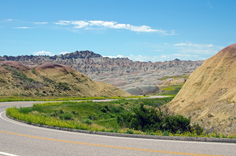 driving on badlands loop road is one of the top things to do in south dakota