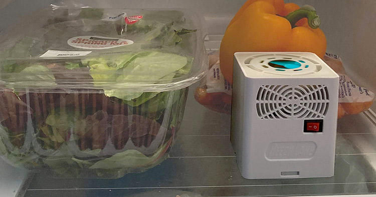 battery powered rv camper and travel trailer refrigerator fan