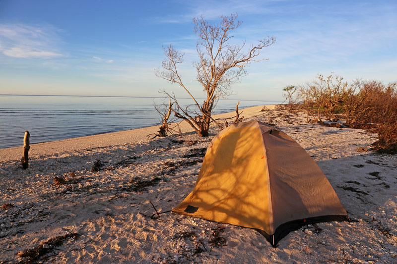 Beach Camping In The Florida Everglades National Park