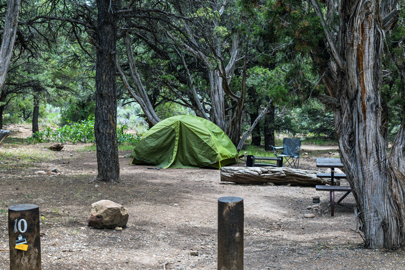 north rim campground in black canyon of the gunnison national park