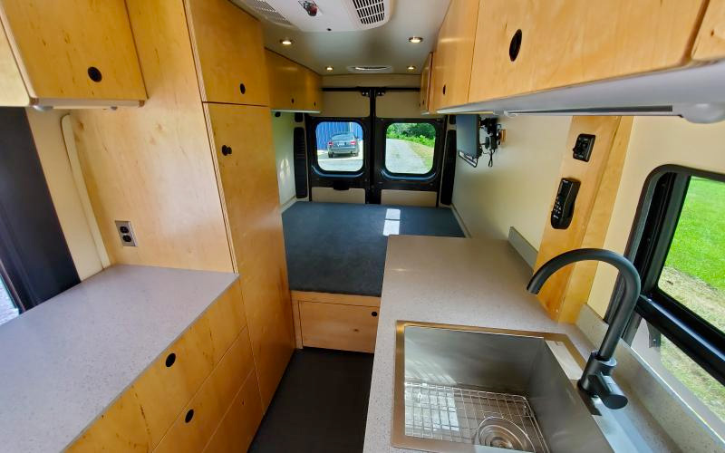 blue ridge adventure vehicles camper van conversions