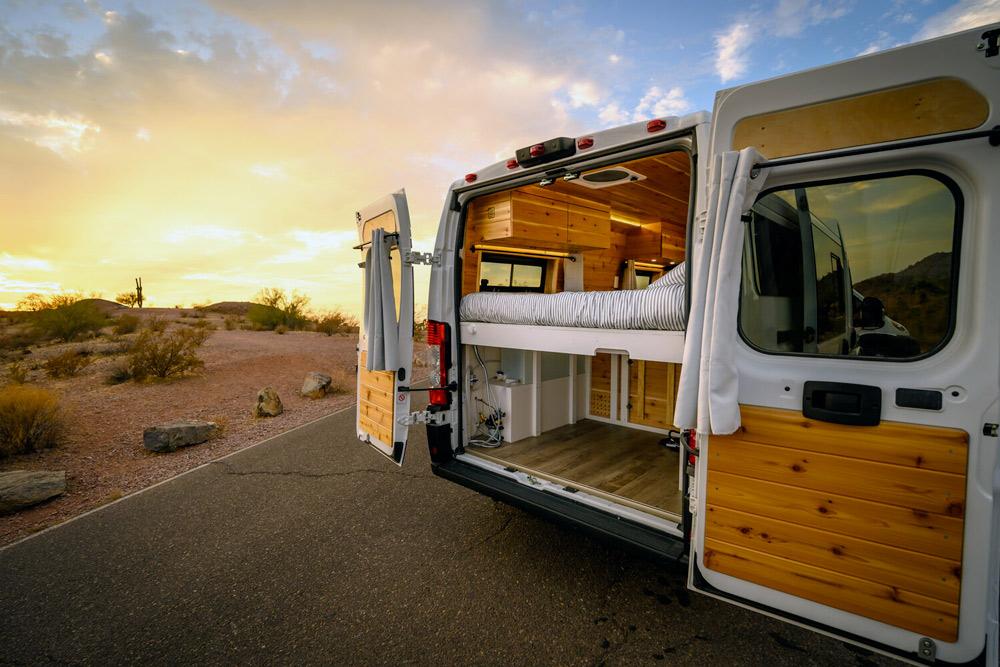 arizona camper van upfitter boho camper vans