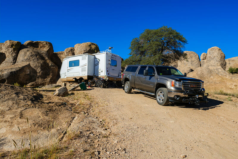 rv boondocking safety tips in the desert