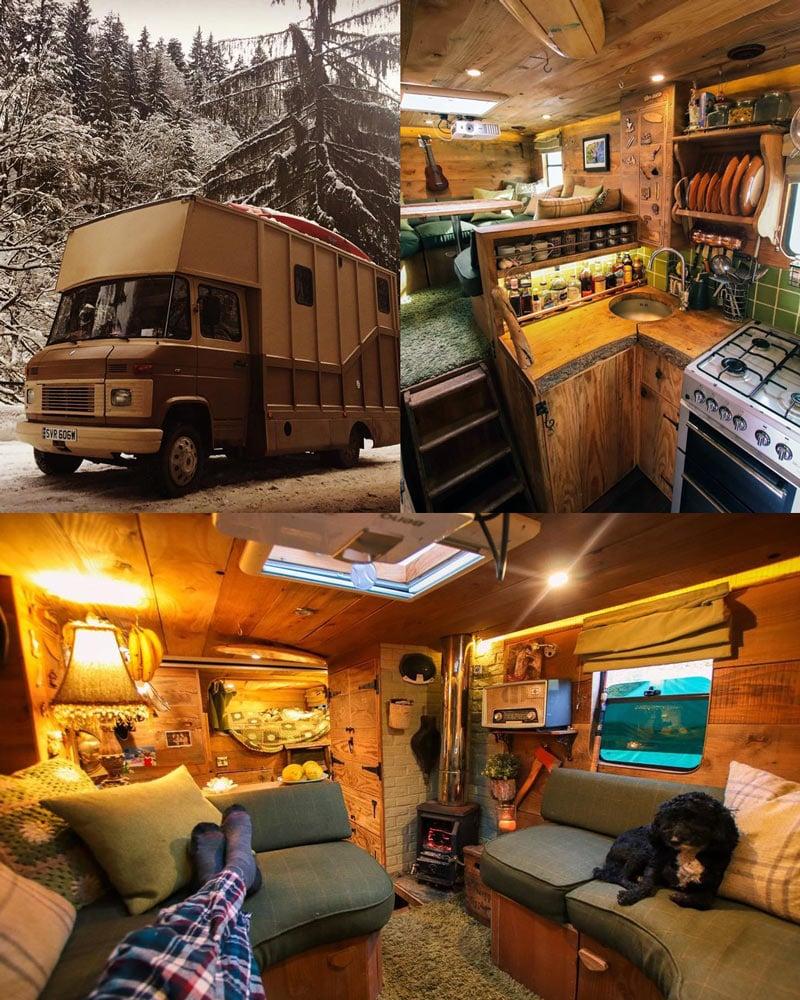 building a diy box truck camper conversion