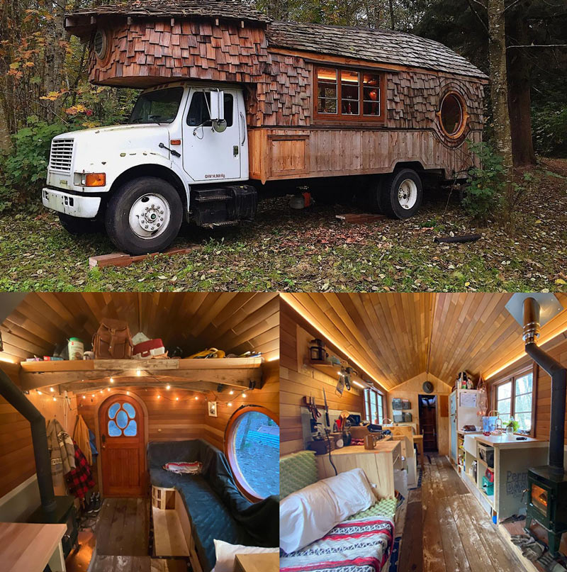 building a diy box truck conversion tiny home