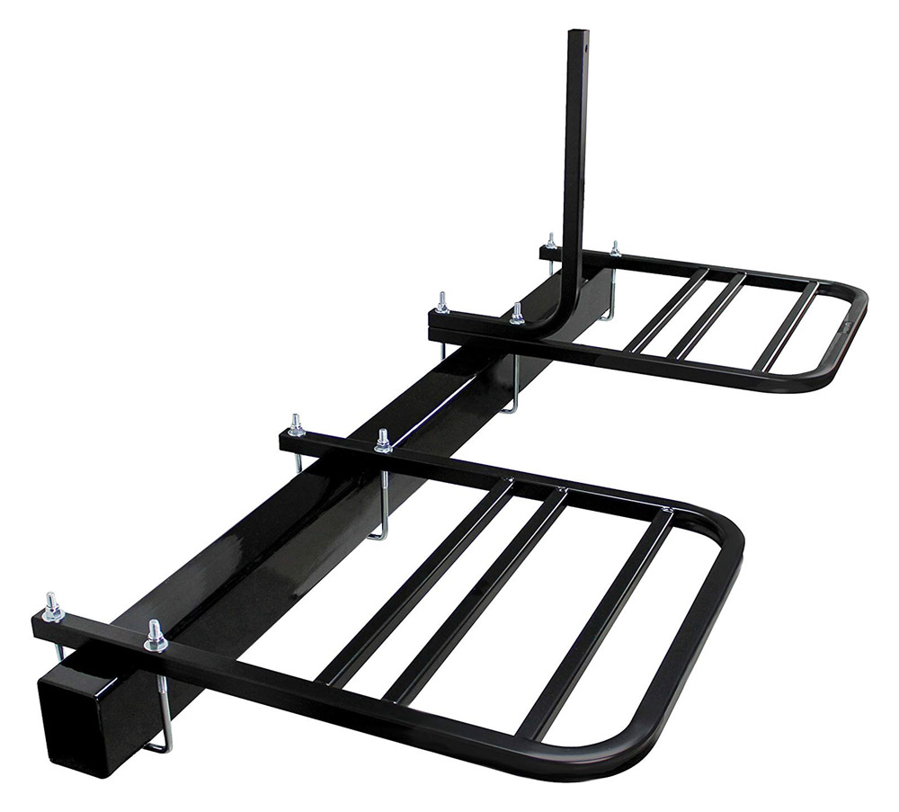 bumper mount travel trailer bike rack
