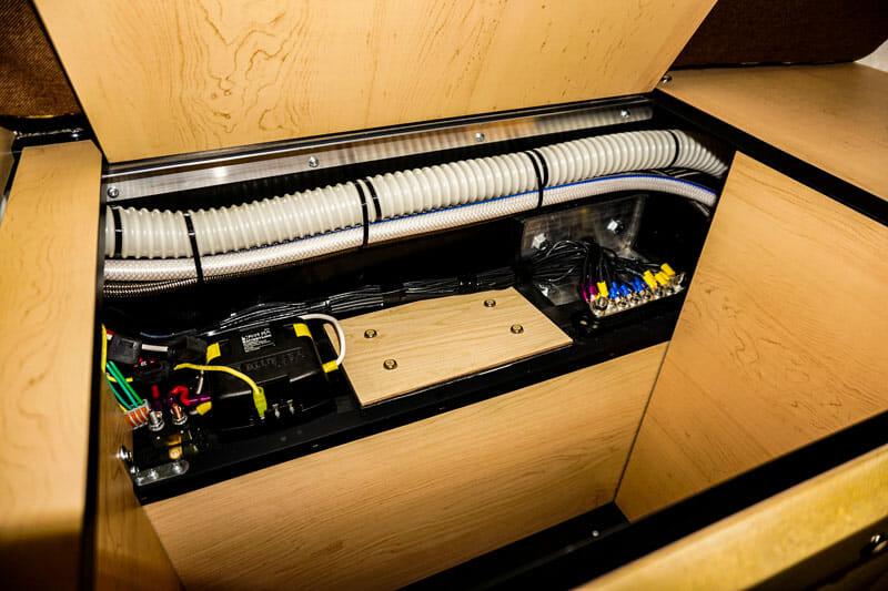 electric system in a truck camper