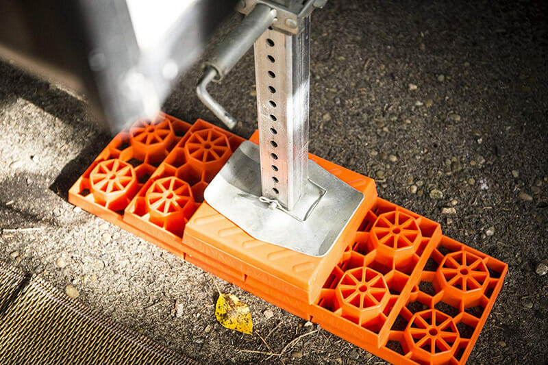 camper trailer leveler blocks