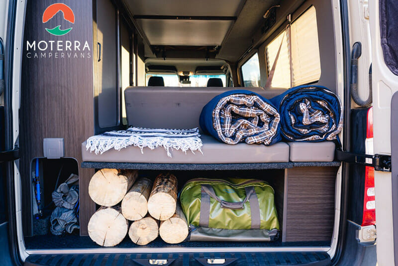 moterra camper vans in jackson hole, wyoming