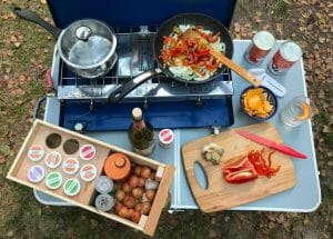 Cooking On A Propane Stove
