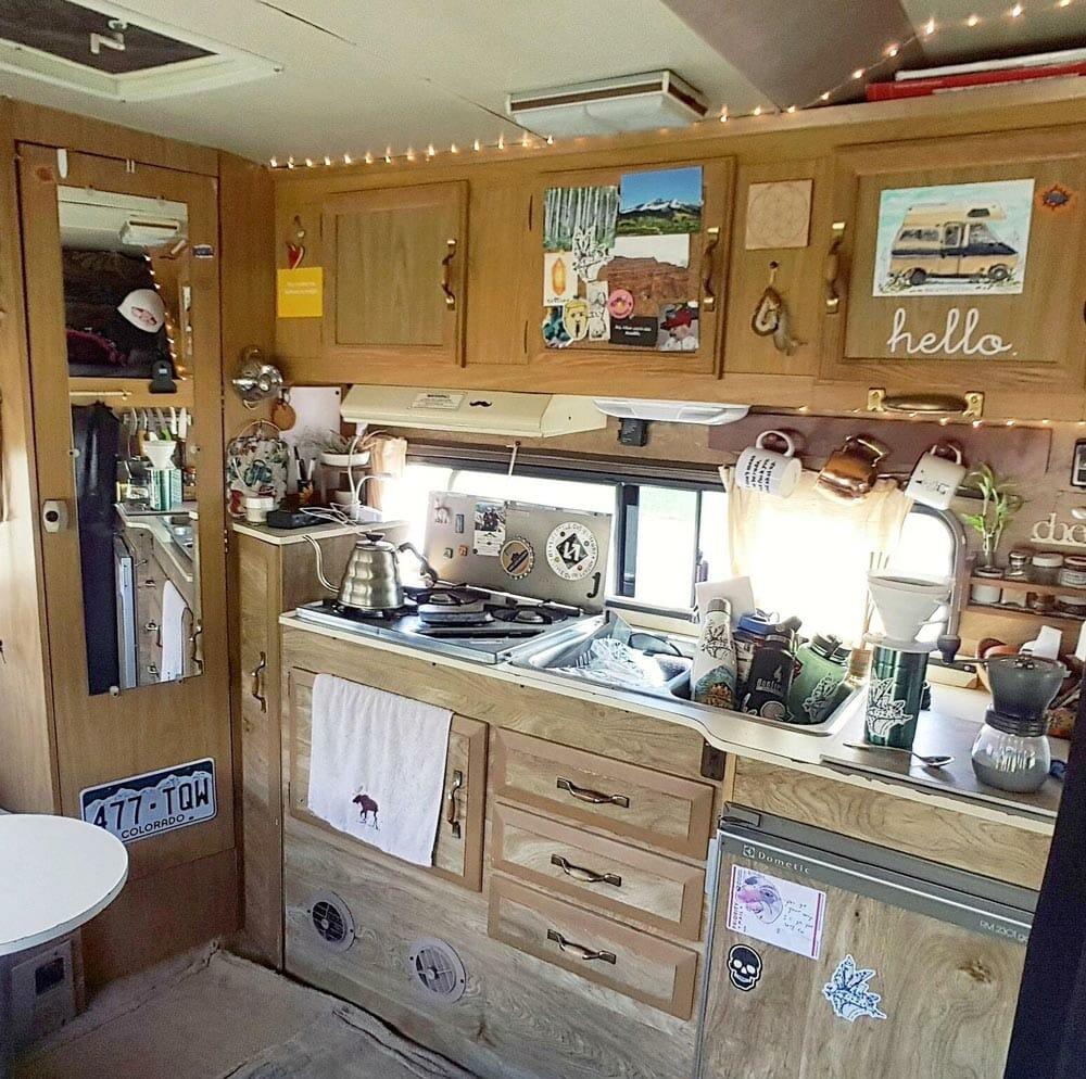 class c camper kitchen