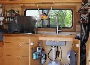 Building A DIY Water System Into A Campervan Conversion