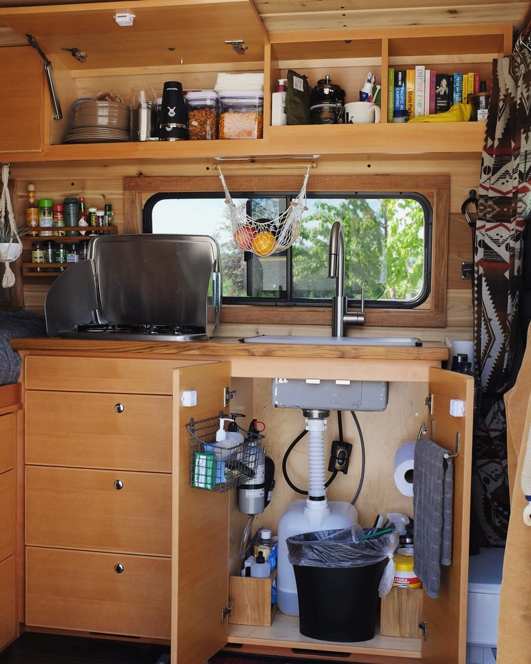 building a DIY water system into a campervan conversion