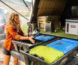 Truck Bed Camping Organization Boxes