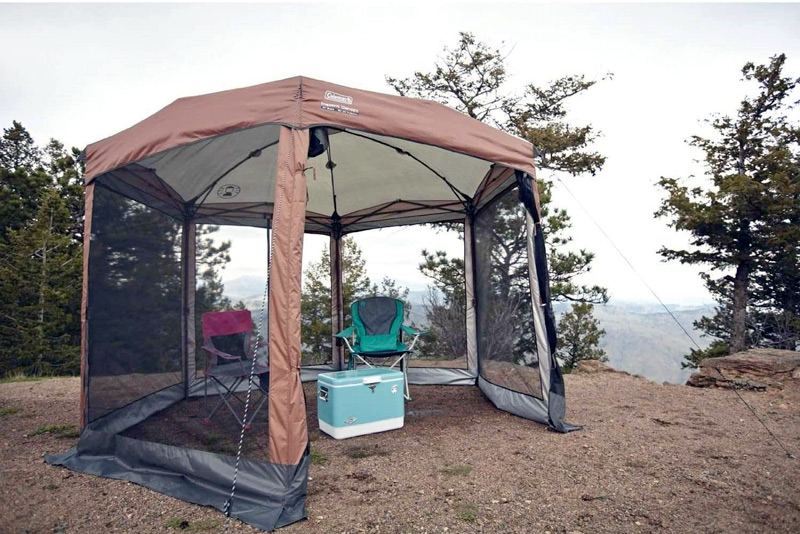 best campsite screen tent to avoid bugs
