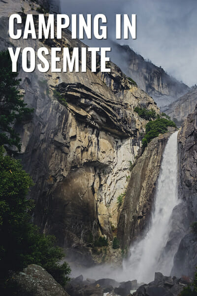 Camping In Yosemite National Park, California