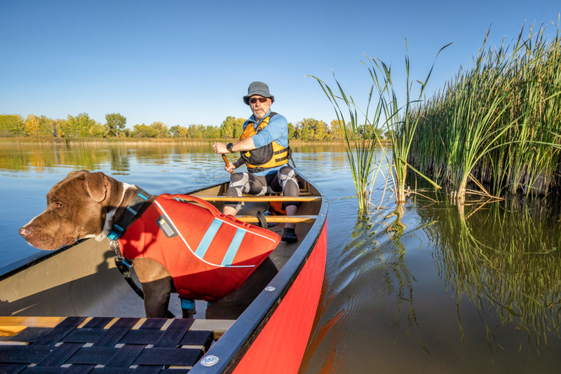 canoes offer more storage space for gear