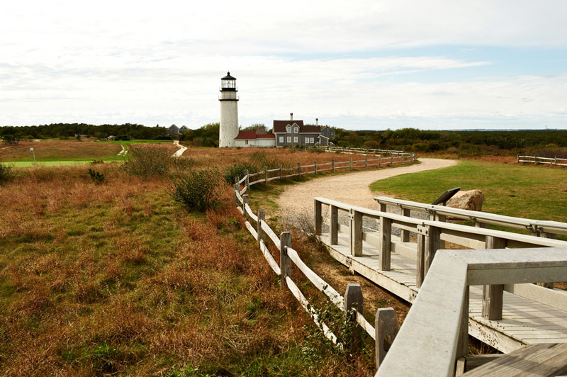 Cape Cod National Seashore And Park In Massachusetts