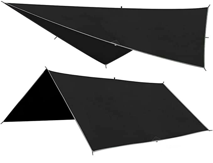 cheap rainfly for a hammock camping tarp
