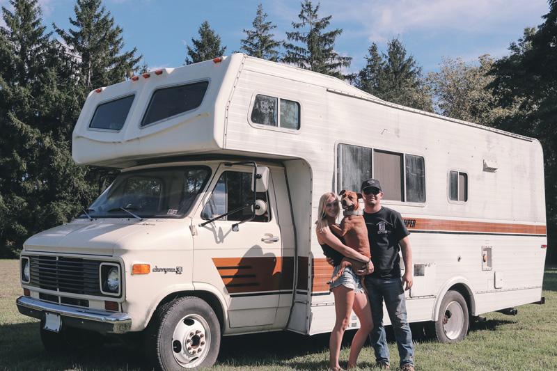 class c camper couple